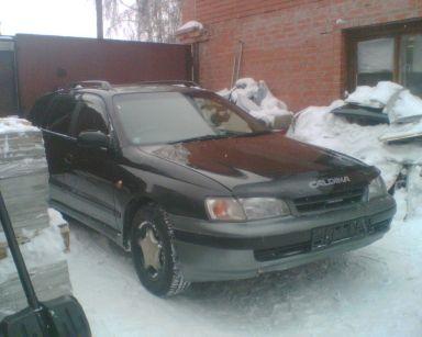 Toyota Caldina 1995 отзыв автора | Дата публикации 15.01.2010.
