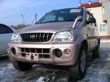 Toyota Cami 2002 - отзыв владельца