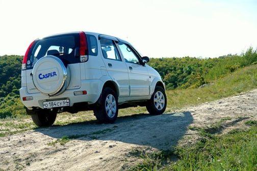 Toyota Cami 2003 - отзыв владельца