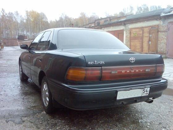 toyota camry 1992 2.0 характеристики