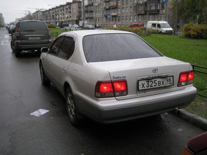 toyota camry 2.0 расход топлива 1995
