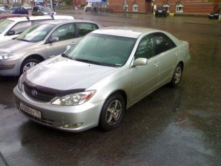Toyota Camry 2001 - отзыв владельца