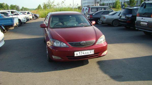 Toyota Camry 2002 - отзыв владельца