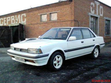Toyota Carina, 1986