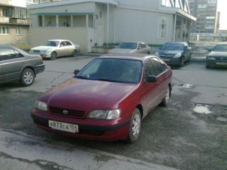 Toyota Carina E 1993 - отзыв владельца
