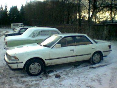 Toyota Carina ED, 1987