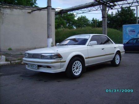 Toyota Carina ED 1988 - отзыв владельца