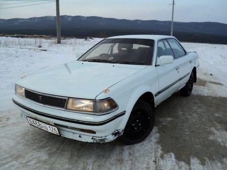 Toyota Carina ED 1985 - отзыв владельца
