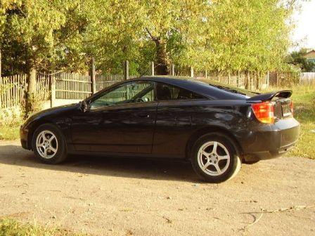 Toyota Celica 2003 - отзыв владельца