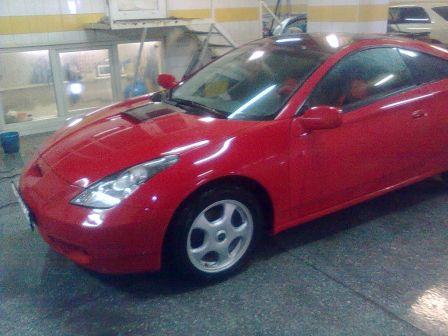 Toyota Celica 2001 - отзыв владельца