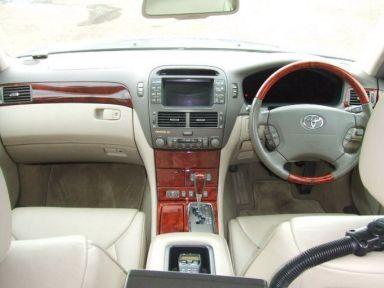 Toyota Celsior 2002 отзыв автора | Дата публикации 13.01.2009.