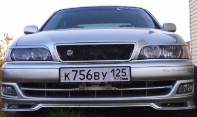 Toyota Chaser 1999 отзыв автора | Дата публикации 31.07.2010.
