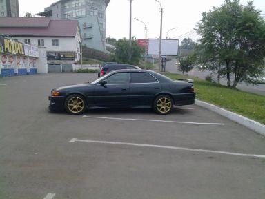 Toyota Chaser 1998 отзыв автора | Дата публикации 18.07.2012.