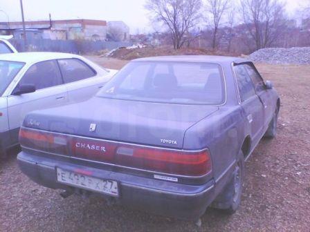 Toyota Chaser 1991 - отзыв владельца