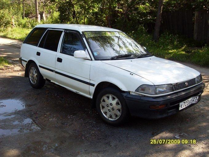 toyota corolla 1988 год