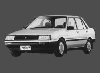 Toyota Corolla 1985 отзыв автора | Дата публикации 23.12.2001.