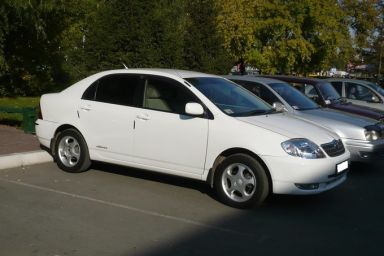 Toyota Corolla 2000 отзыв автора | Дата публикации 19.02.2009.