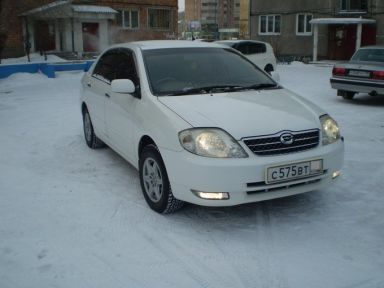 Toyota Corolla 2001 отзыв автора | Дата публикации 21.02.2009.