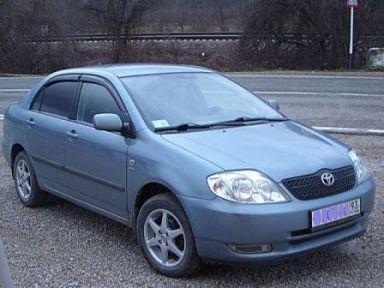 Toyota Corolla 2003 отзыв автора | Дата публикации 18.03.2009.
