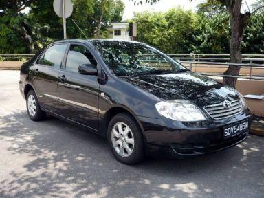 Toyota Corolla 2002 отзыв автора | Дата публикации 26.10.2009.