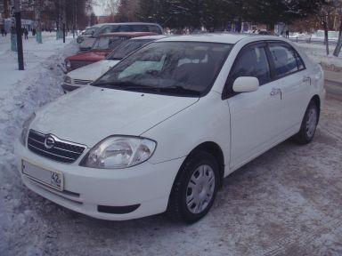 Toyota Corolla 2001 отзыв автора | Дата публикации 06.04.2010.