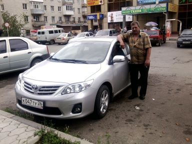 Toyota Corolla 2011 отзыв автора | Дата публикации 17.10.2011.