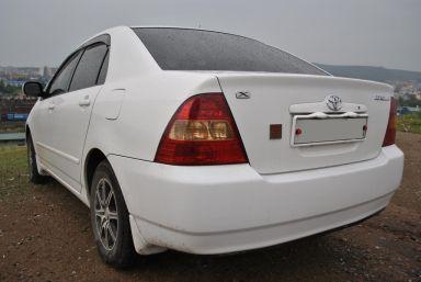 Toyota Corolla 2002 отзыв автора | Дата публикации 01.02.2012.