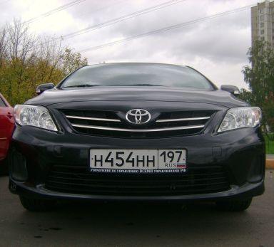 Toyota Corolla 2011 отзыв автора | Дата публикации 12.04.2012.