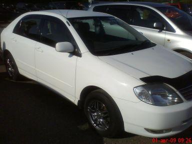 Toyota Corolla 2002 отзыв автора | Дата публикации 29.06.2012.