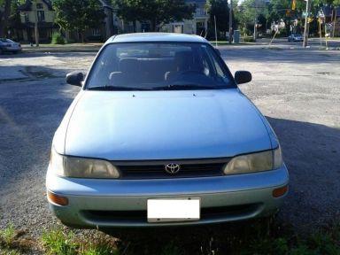 Toyota Corolla 1993 отзыв автора | Дата публикации 16.07.2012.