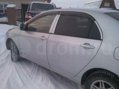 Toyota Corolla 2002 отзыв автора | Дата публикации 23.01.2013.