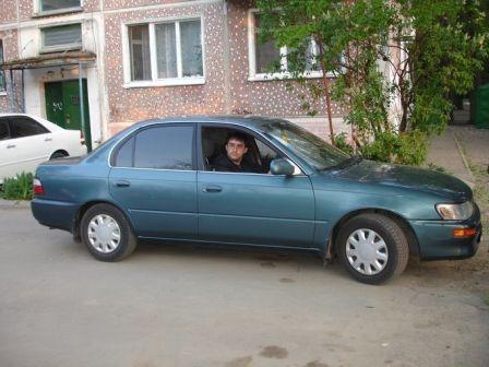 Toyota Corolla 1993 - отзыв владельца