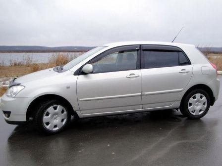 Toyota Corolla 2005 - отзыв владельца