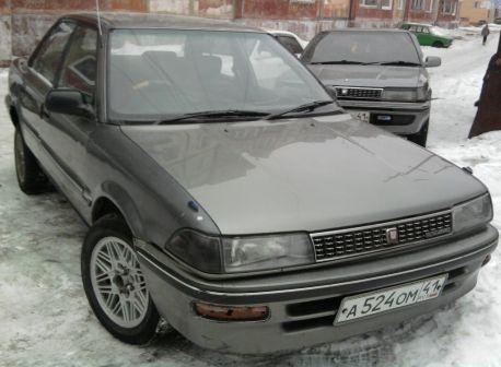 Toyota Corolla 1991 - отзыв владельца