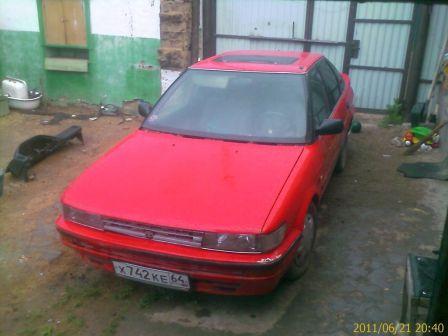 Toyota Corolla 1987 - отзыв владельца