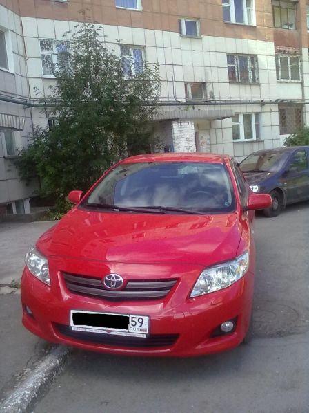 Toyota Corolla 2007 - отзыв владельца