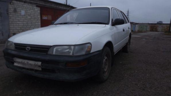 Toyota Corolla 1995 - отзыв владельца
