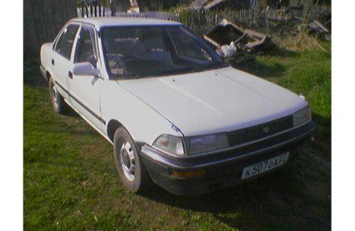 Toyota Corolla 1989 - отзыв владельца