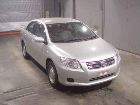 Toyota Corolla Axio 2007 - отзыв владельца