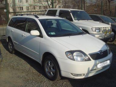 Toyota Corolla Fielder, 2002