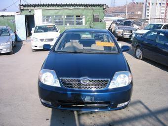 Toyota Corolla Fielder, 2000