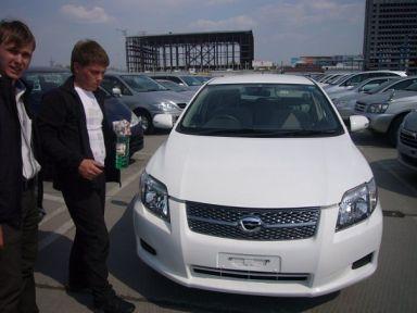 Toyota Corolla Fielder, 2006