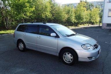 Corolla Fielder 2003 отзыв автора | Дата публикации 30.08.2012.