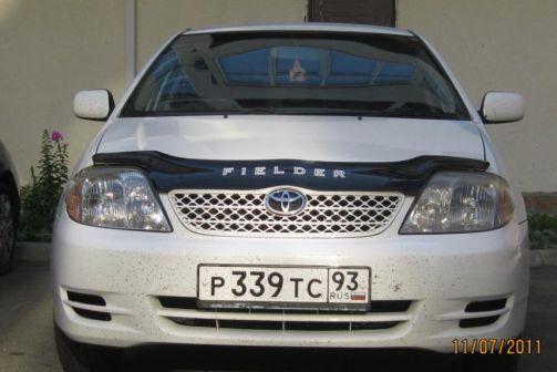Toyota Corolla Fielder 2003 - отзыв владельца