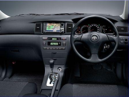 Toyota Corolla Fielder 2004 - отзыв владельца