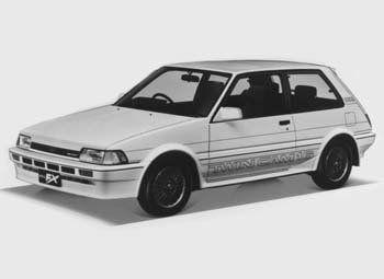 Toyota Corolla FX, 1985
