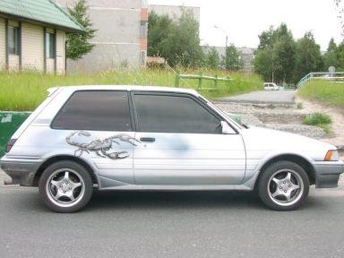 Toyota Corolla FX, 1986