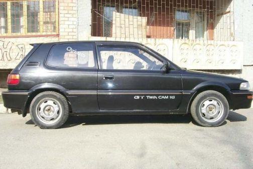 Toyota Corolla FX 1990 - отзыв владельца
