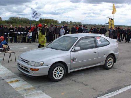 Toyota Corolla FX 1992 - отзыв владельца