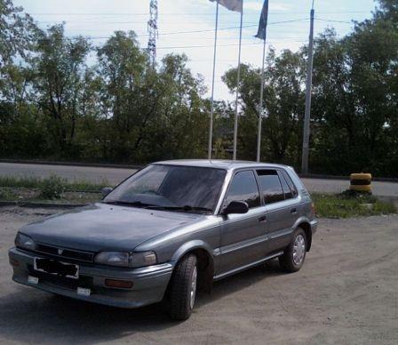 Toyota Corolla FX 1989 - отзыв владельца
